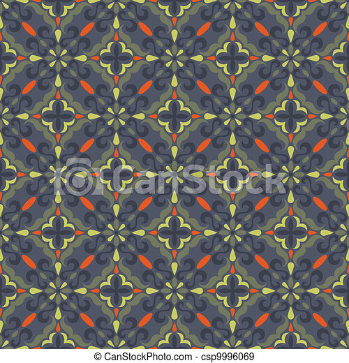 traditional seamless pattern - csp9996069