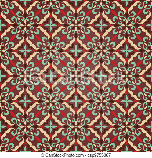 traditional seamless pattern - csp9755067