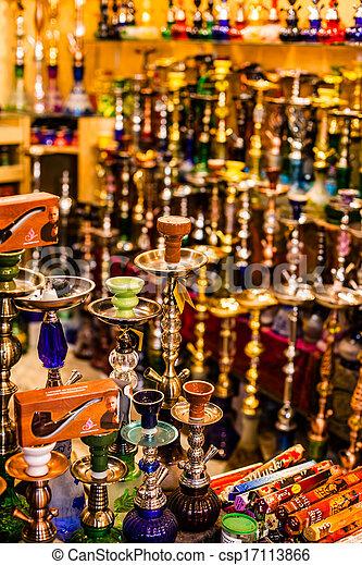 Traditional street market in Jerusalem, Israel. - csp17113866