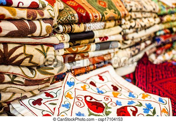 Traditional street market in Jerusalem, Israel. - csp17104153