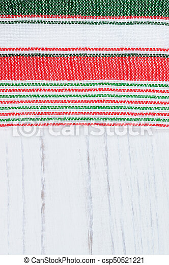 Traditional Tricolor Textile Mexican