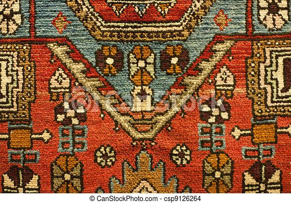 Traditional Turkish Carpet  - csp9126264