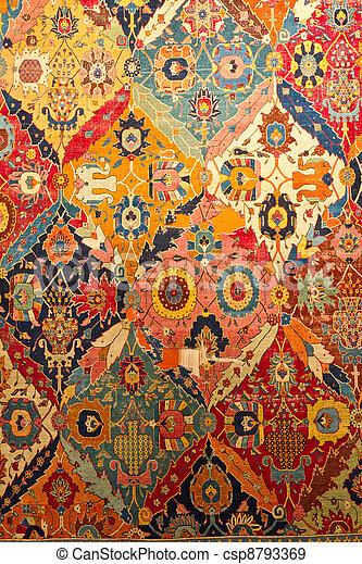 Traditional Turkish Carpet - csp8793369