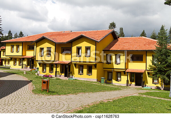 Traditional Turkish Houses from Kastamonu, Turkey - csp11628763