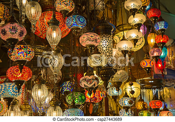 Traditional Turkish Lamps   Csp27443689
