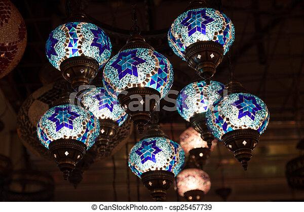 traditionelle , handgearbeitet, orientalische , lampen
