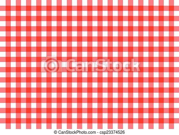 Roter, traditioneller Ingham-Hintergrund - csp23374526