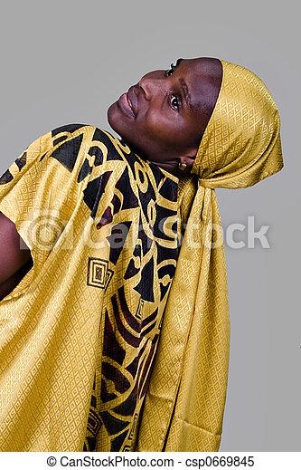 traditionelle , mode, afrikanisch - csp0669845