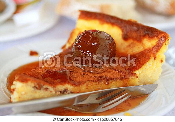 Traditionelle Portugiesisch Kuchen Plam