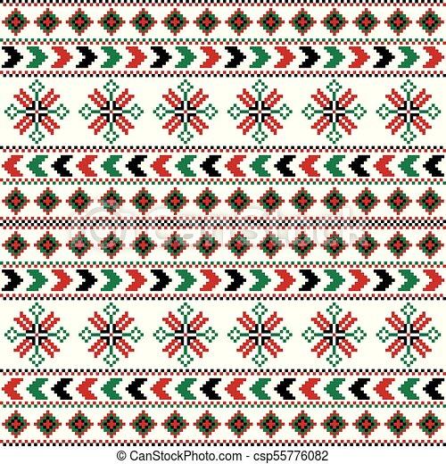 traditionnel, fond, coloré, texture, ethnique - csp55776082