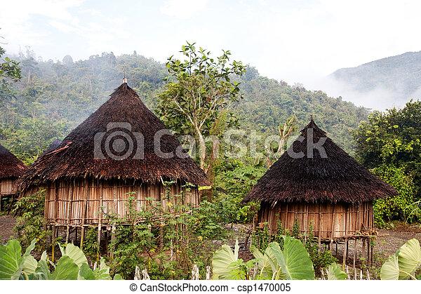 tradizionale, capanna - csp1470005