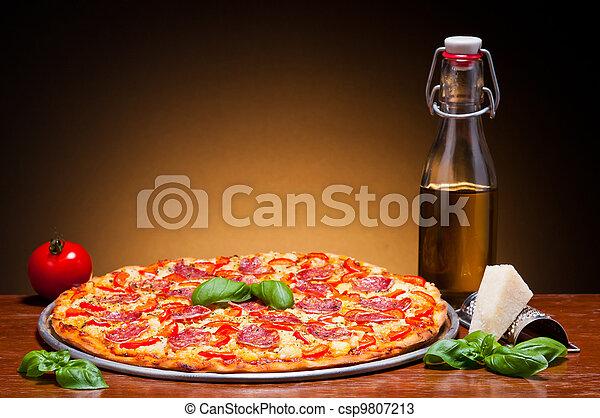 tradizionale, pizza - csp9807213