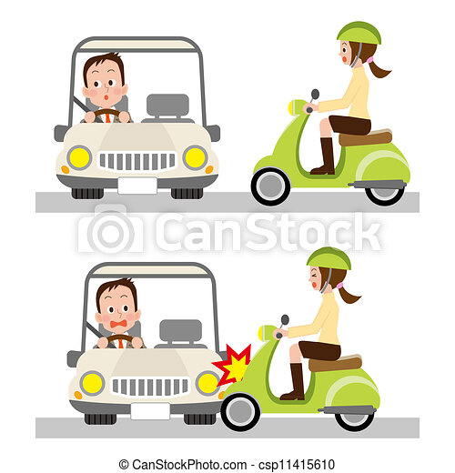 Traffic accident .