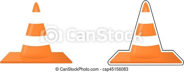 Traffic cone - csp45156083