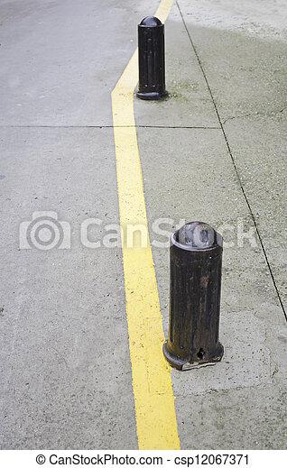 Traffic cones - csp12067371