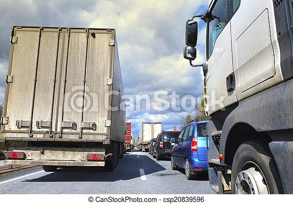 traffic jam - csp20839596