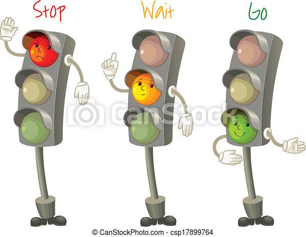 Traffic light - csp17899764