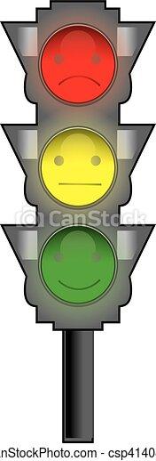 traffic light - csp41408332