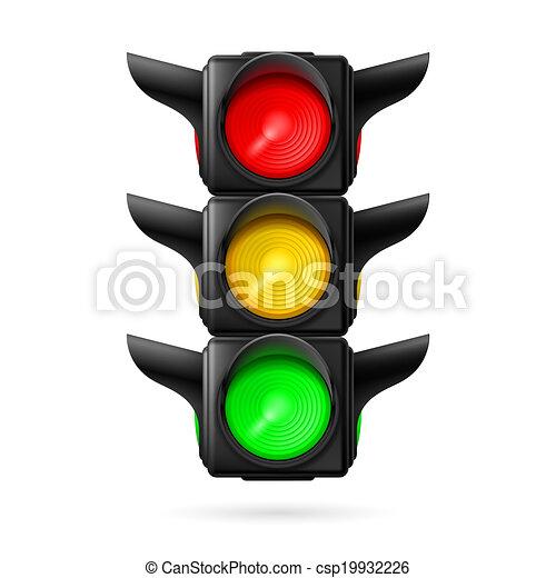 Traffic light - csp19932226