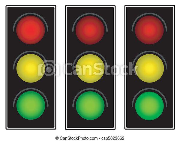 Traffic light - csp5823662