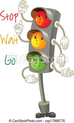 Traffic light - csp17899776