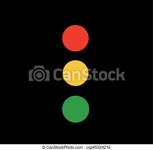 Traffic light - csp45324216