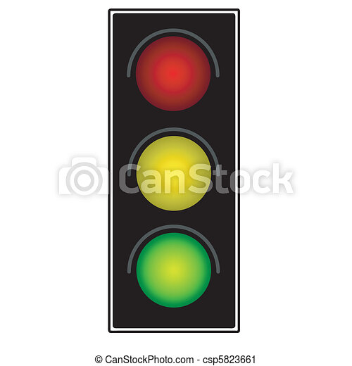 Traffic light - csp5823661