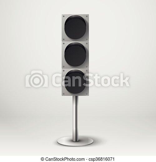 Traffic light vector illustration. diod traffic light.... vectors ...