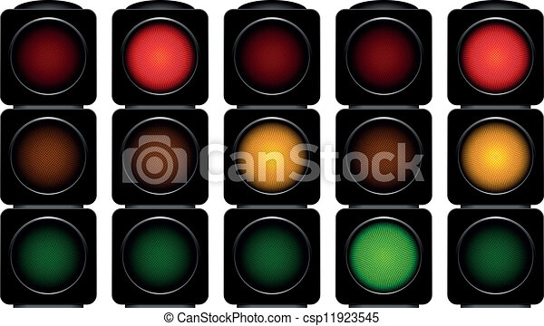 traffic lights - csp11923545