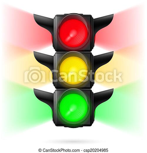 Traffic lights - csp20204985