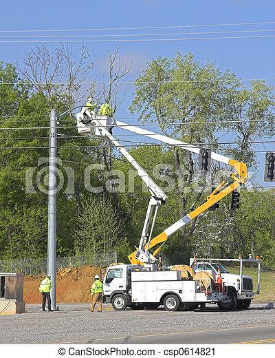 Traffic lights installed 1 - csp0614821