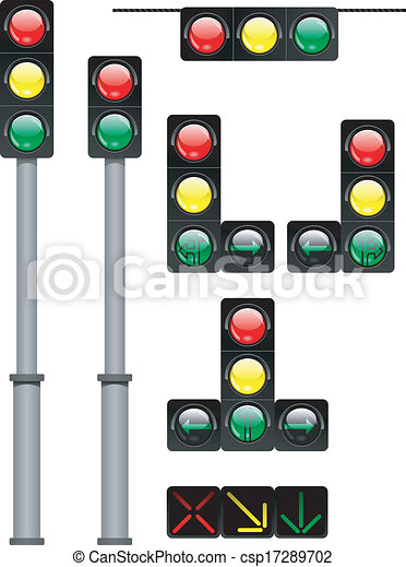 traffic lights - csp17289702