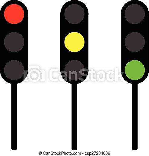traffic lights vector traffic lights https www canstockphoto com traffic lights vector 27204086 html