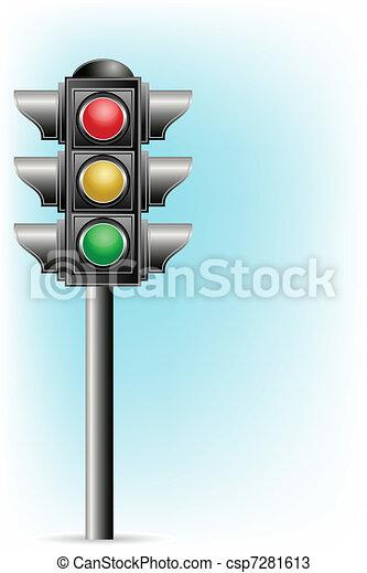 Traffic Signal - csp7281613