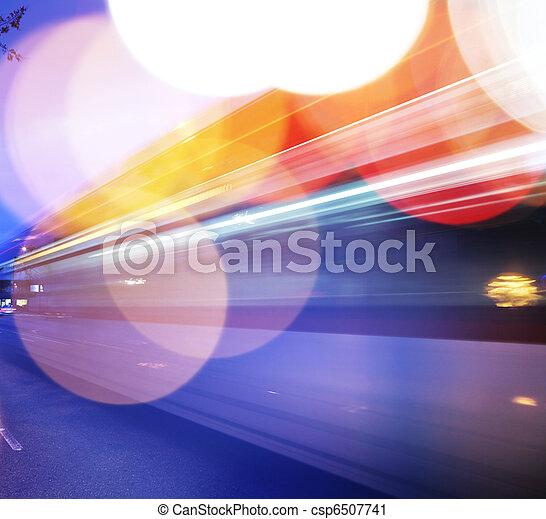 trafic, fond - csp6507741