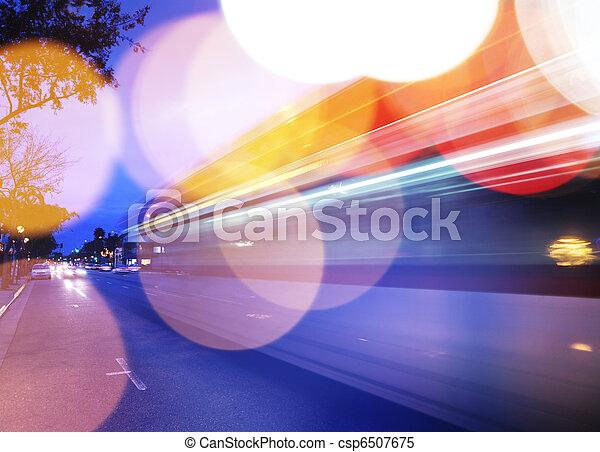 trafic, fond - csp6507675
