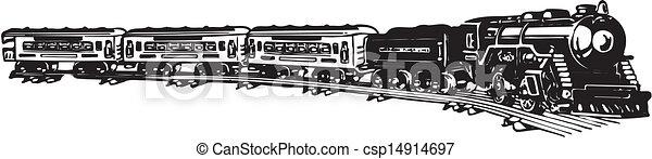 train., antigas, vapor - csp14914697