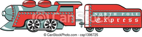 train, art, agrafe - csp1396725
