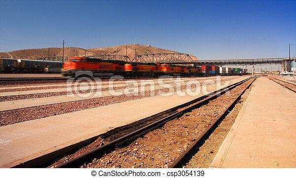 train, expédier - csp3054139
