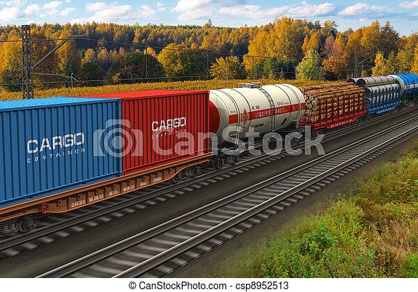 train, fret - csp8952513