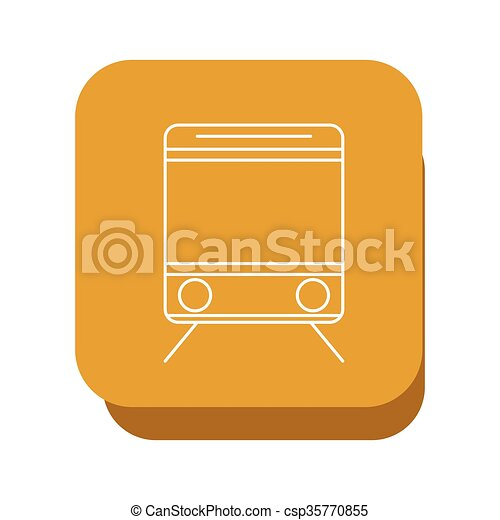train icon design, vector illustration - csp35770855