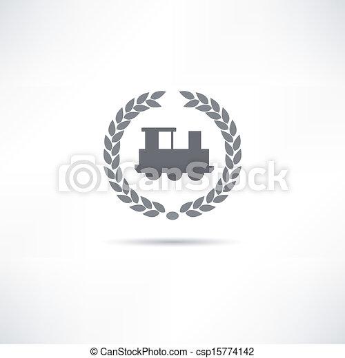 train icon - csp15774142