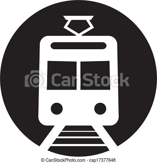 Train Icon - csp17377648