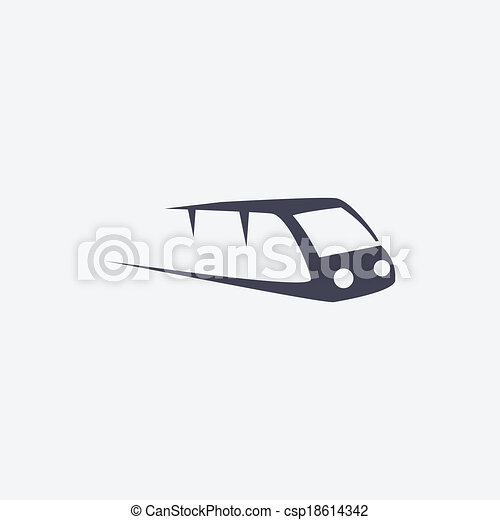 train icon - csp18614342