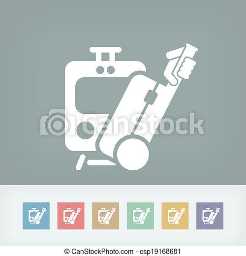 Train icon - csp19168681