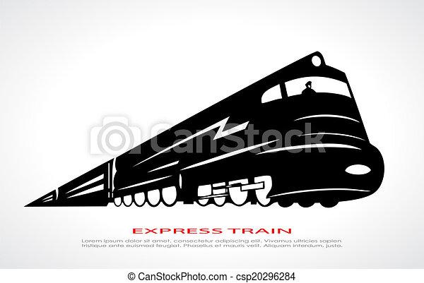 Train icon - csp20296284