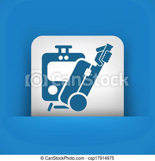 Train icon - csp17914975