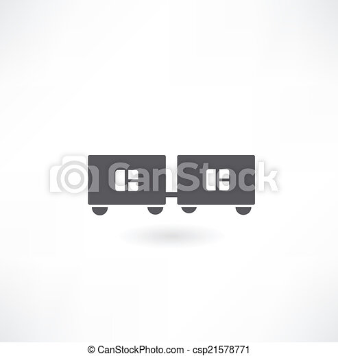 train icon - csp21578771