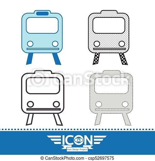 Train Icon - csp52697575