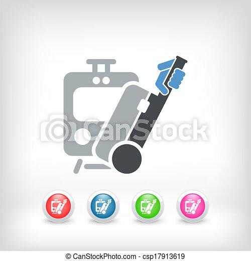 Train icon - csp17913619